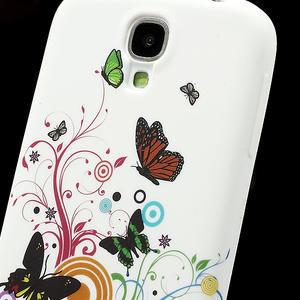 Gelové pouzdro pro Samsung Galaxy S4 i9500- motýl color - 4