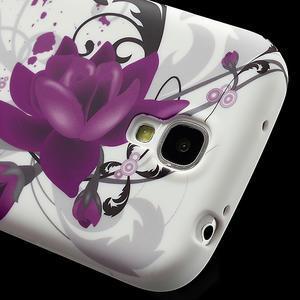 Gélové puzdro pro Samsung Galaxy S4 i9500- kvetové puzdro - 4