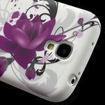 Gélové puzdro pro Samsung Galaxy S4 i9500- kvetové puzdro - 4/7