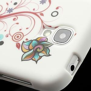 Gélové puzdro pro Samsung Galaxy S4 i9500- farebná kvetina - 4