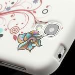 Gélové puzdro pro Samsung Galaxy S4 i9500- farebná kvetina - 4/7
