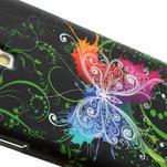 Gélové puzdro pro Samsung Galaxy S4 i9500- farebný motýl - 4/5