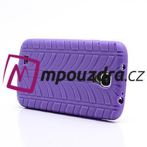 Gelové PNEU pouzdro pro Samsung Galaxy S4 i9500- fialové - 4