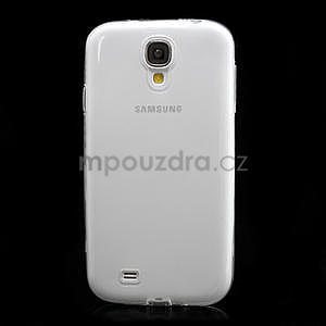 Gélové slim puzdro na Samsung Galaxy S4 i9500- biele - 4