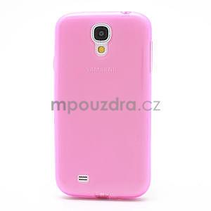 Gélové slim puzdro na Samsung Galaxy S4 i9500- růžové - 4