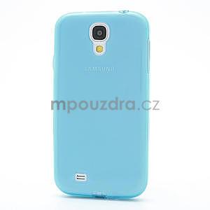 Gélové slim puzdro na Samsung Galaxy S4 i9500- modré - 4