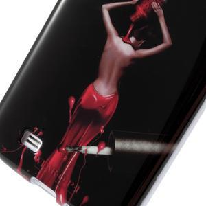 Gélové puzdro pre Samsung Galaxy S4 i9500- lakovaná žena - 4