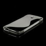 Gélové S-line puzdro pre HTC one Mini M4- transparentný - 4/5