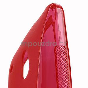 Gélové S-line puzdro pre HTC one Mini M4- červené - 4