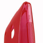 Gélové S-line puzdro pre HTC one Mini M4- červené - 4/5