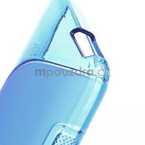 Gélové S-line puzdro pre HTC one Mini M4- modré - 4
