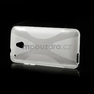 Gélové X-line puzdro pre HTC one Mini M4- transparentný - 4