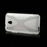 Gélové X-line puzdro pre HTC one Mini M4- transparentný - 4/4