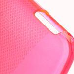 Gélové X-line puzdro pre HTC one Mini M4- ružové - 4/4