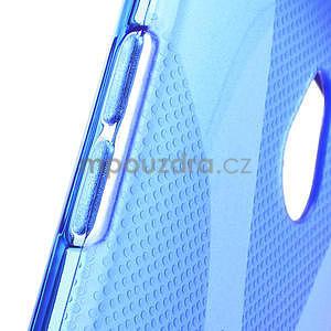 Gélové X-line puzdro pre HTC one Mini M4- modré - 4