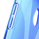 Gélové X-line puzdro pre HTC one Mini M4- modré - 4/4