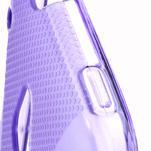 Gélové X-line puzdro pre HTC one Mini M4- fialové - 4/4