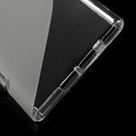 Gélové S-line puzdro na Xiaomi Mi3- transparentný - 4/5