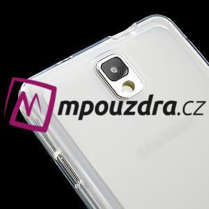Gélové Jelly puzdro na Samsung Galaxy Note 3- biele - 4