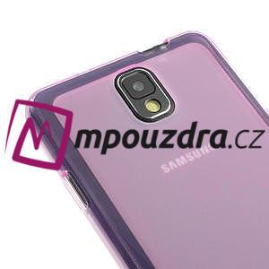 Gélové Jelly puzdro na Samsung Galaxy Note 3- růžové - 4