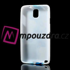 Gélové puzdro na Samsung Galaxy Note 3- modrá lilie - 4