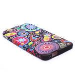 Gélové puzdro pre HTC one M7- farebné vzory - 4/4