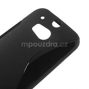 Gélové S-line puzdro pre HTC one M8- čierné - 4