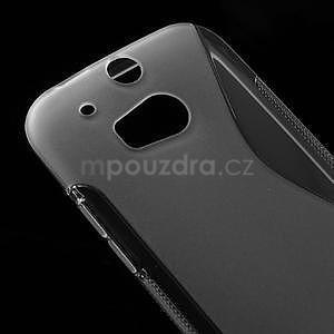 Gélové S-line puzdro pre HTC one M8- transparentný - 4