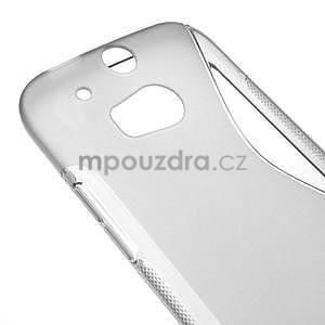 Gélové S-line puzdro pre HTC one M8- šedé - 4