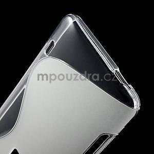 Gélové S-line puzdro pre HTC one Max-transparentný - 4