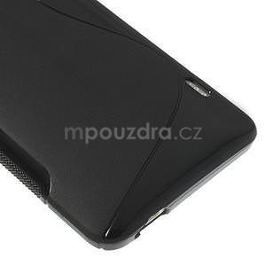 Gélové S-line puzdro pre HTC one Max-čierné - 4