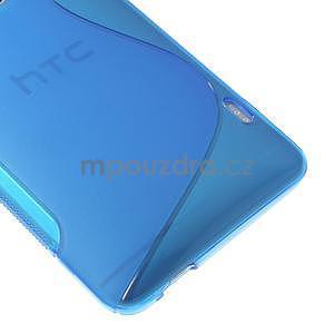 Gélové S-line puzdro pre HTC one Max-modré - 4