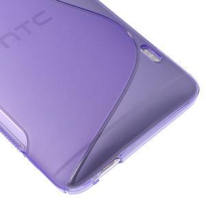 Gélové S-line puzdro na HTC One Max- fialové - 4