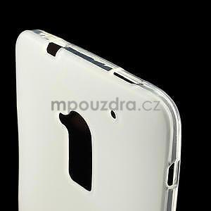 Gélové matné puzdro pre HTC one Max- bílá - 4