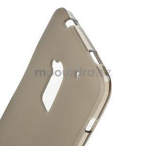 Gélové matné puzdro pre HTC one Max- šedá - 4