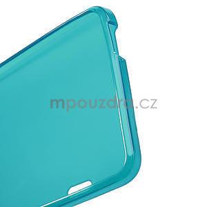 Gélové matné puzdro pre HTC one Max- svetlo modré - 4