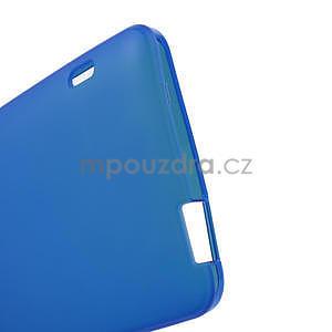 Gélové matné puzdro pre HTC one Max- modré - 4