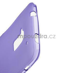Gélové matné puzdro pre HTC one Max- fialové - 4