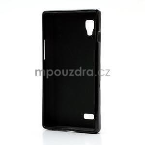 Gélové PUNTÍK puzdro pre LG Optimus L9 P760- čierné - 4