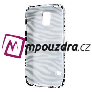 Gélové puzdro pre Samsung Galaxy S5- zebrovité - 4
