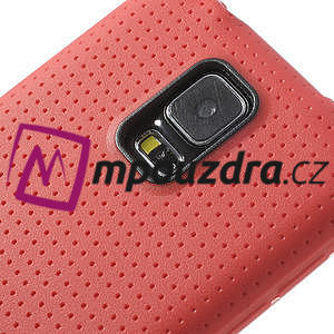 Gélové puzdro pre Samsung Galaxy S5- červené - 4