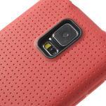 Gélové puzdro pre Samsung Galaxy S5- červené - 4/5