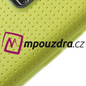 Gélové puzdro pre Samsung Galaxy S5- žlté - 4