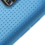 Gélové puzdro pre Samsung Galaxy S5- modré - 4/5