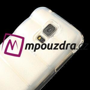 Gelové vesta pouzdro na Samsung Galaxy S5- bílé - 4