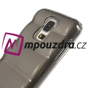 Gélové vesta puzdro pre Samsung Galaxy S5- šedé - 4
