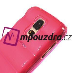 Gelové vesta pouzdro na Samsung Galaxy S5- růžové - 4