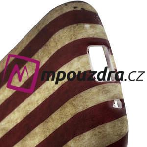 Gélové puzdro na Samsung Galaxy Young S6310- USA vlajka - 4