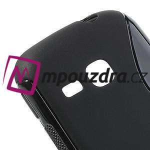 Gélové S-line puzdro na Samsung Galaxy Young S6310- čierné - 4