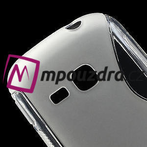 Gélové S-line puzdro na Samsung Galaxy Young S6310- transparentný - 4
